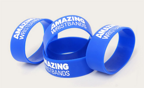 Top 5 Reasons To Go With Custom Made Silicone Wristbands
