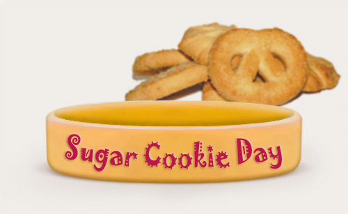 Custom Sugar Cookie Day Bracelets
