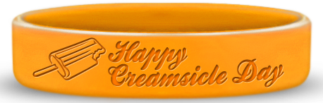 Happy Creamsicle Day Wristbands