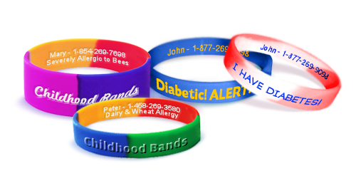 Medical Alert Wristband - Custom Made – Personalized Bracelets