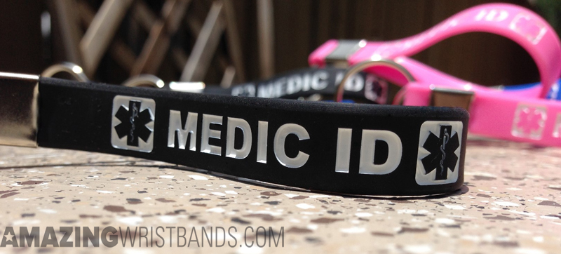 Custom Designed Medical Alert Keychains
