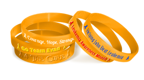Leukemia Awareness Bands
