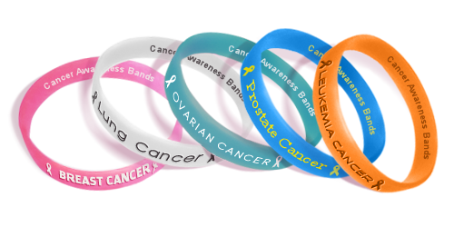 Cancer Awareness Colors For Wristbands