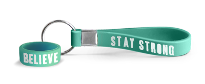 Stay Strong Fundraising Keychains