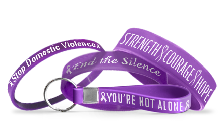 Domestic Violence Awareness Bracelets