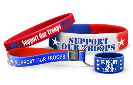 Support Our Troops Bracelets