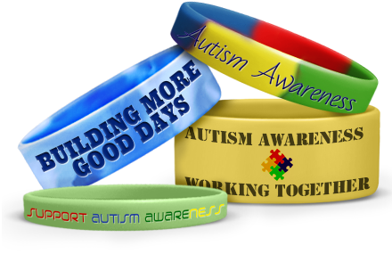 Autism Awareness Silicone Bracelets