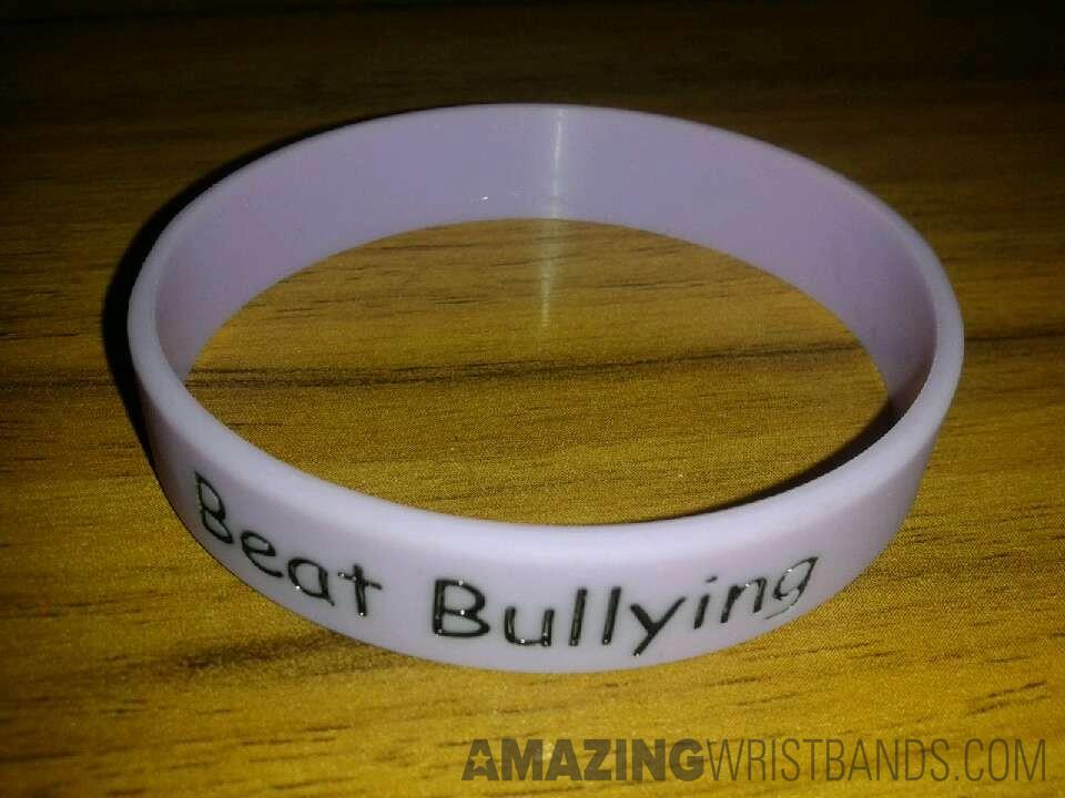 Bracelets To Support Anti-bullying wristbands