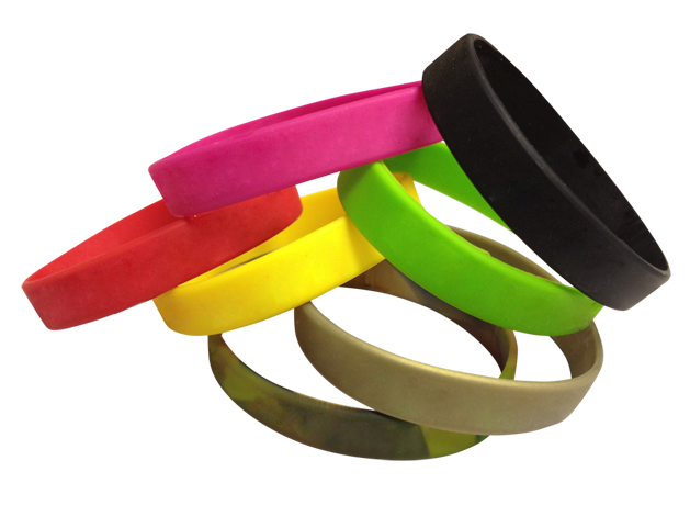 Pure Silicone Wristbands