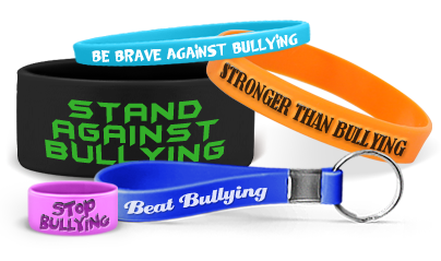 Custom Stop Bullying Bands
