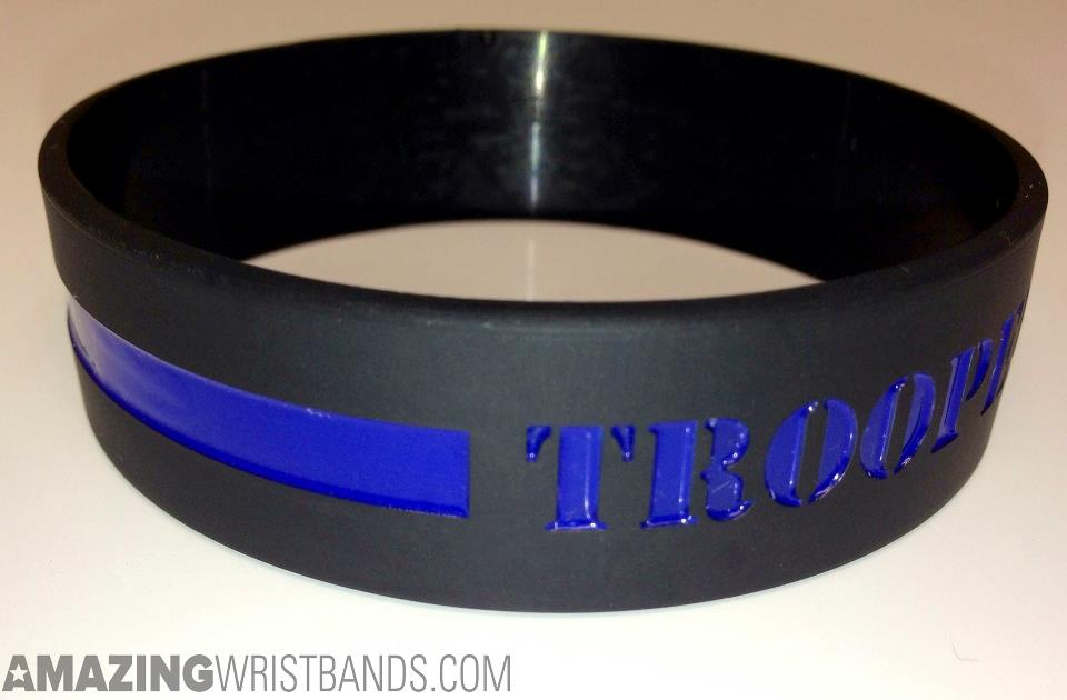 new paracord thin blue logo with line cheap detail product survival available custom weave bracelet style