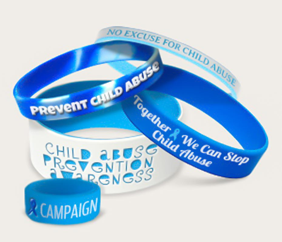 End Child Abuse Bracelets