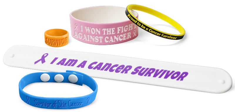 Wristbands Support Cancer Survivors