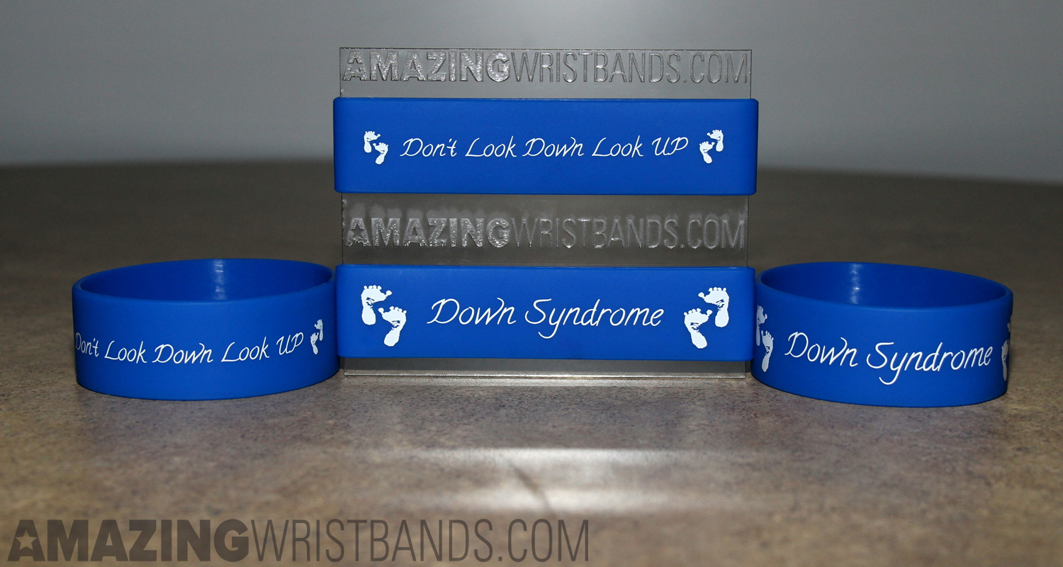 Down Syndrome Awareness Silicone Bands