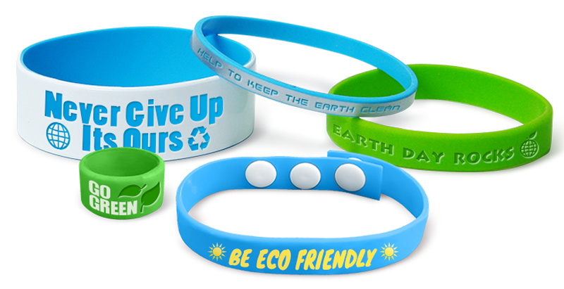 Custom Earth Day Bracelets