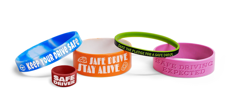 Don't Drink and Drive Wristbands