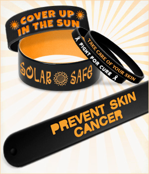 Skin Cancer Prevention Wristbands