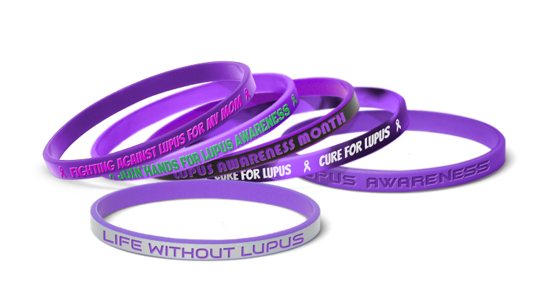 Lupus Awareness Bracelets
