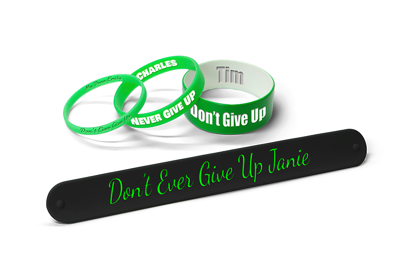 Dont Give Up Bracelets