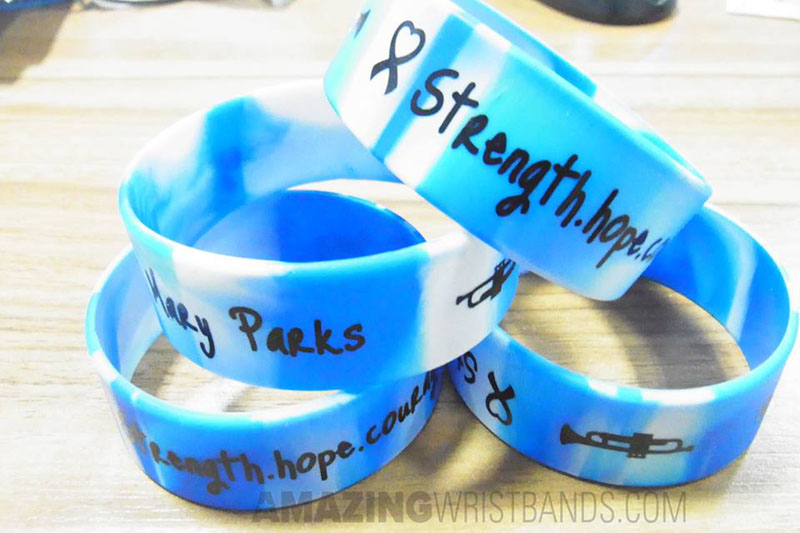 Courage wristbands
