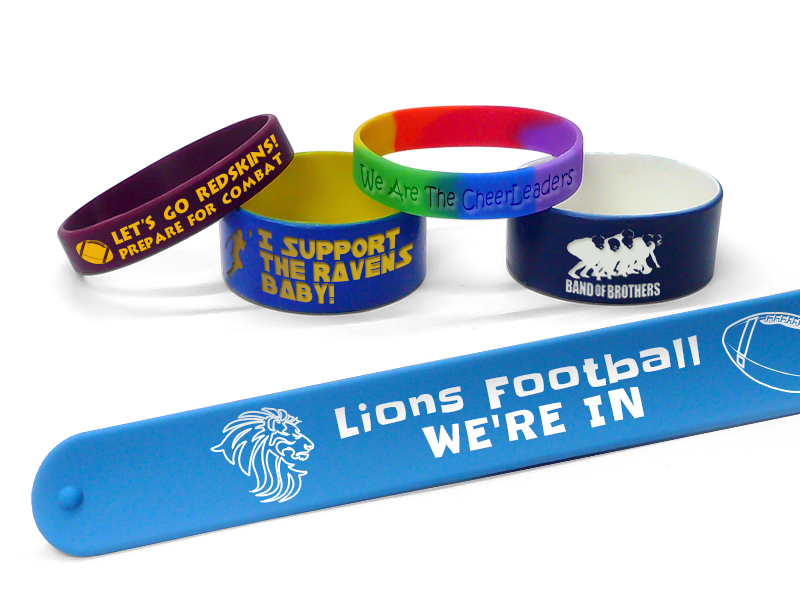 Football Spirit Wristbands