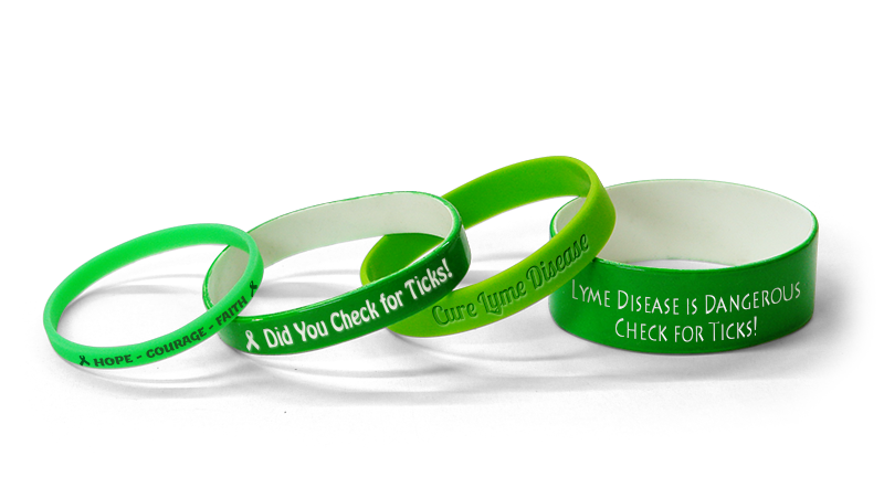 Lyme Disease Awareness Bracelets