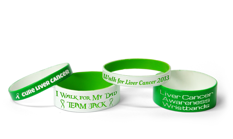 Liver Cancer Awareness Bracelets