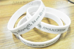 Wristbands With White Color