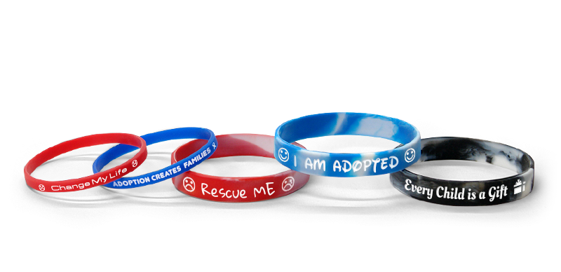 International Adoption Bracelets