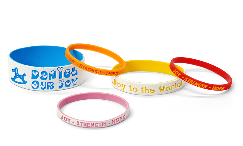Bundle Of Joy Wristbands