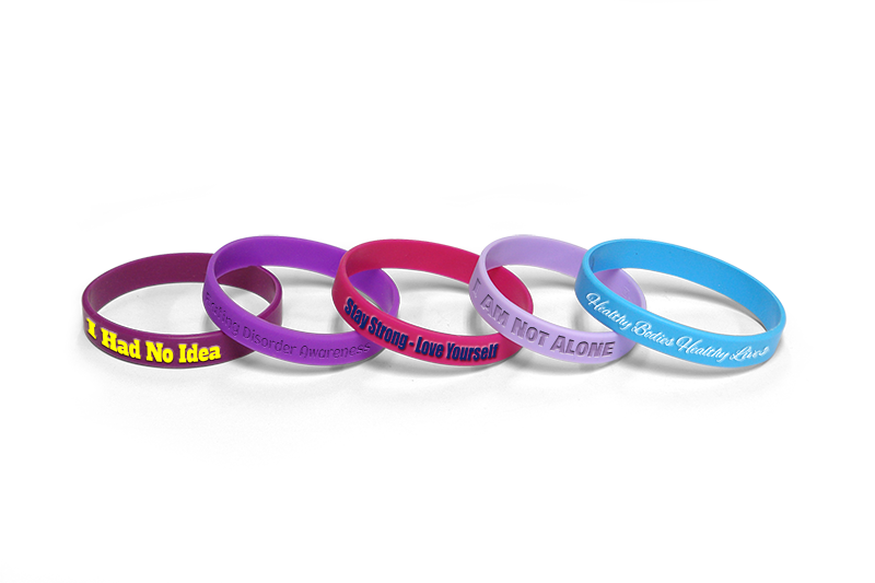 Eating Disorder Awareness Bracelets