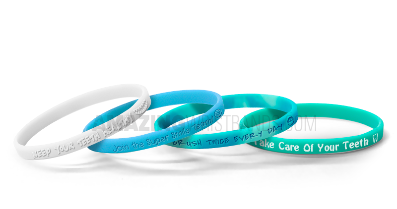 Dental Health Awareness Wristbands