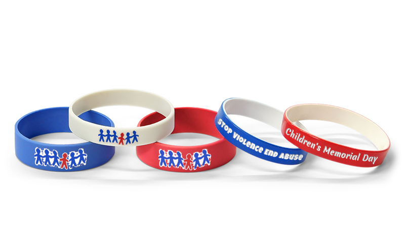 Childrens Memorial Flag Bracelets