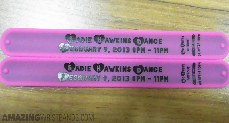 Dance Show Entry Wristbands