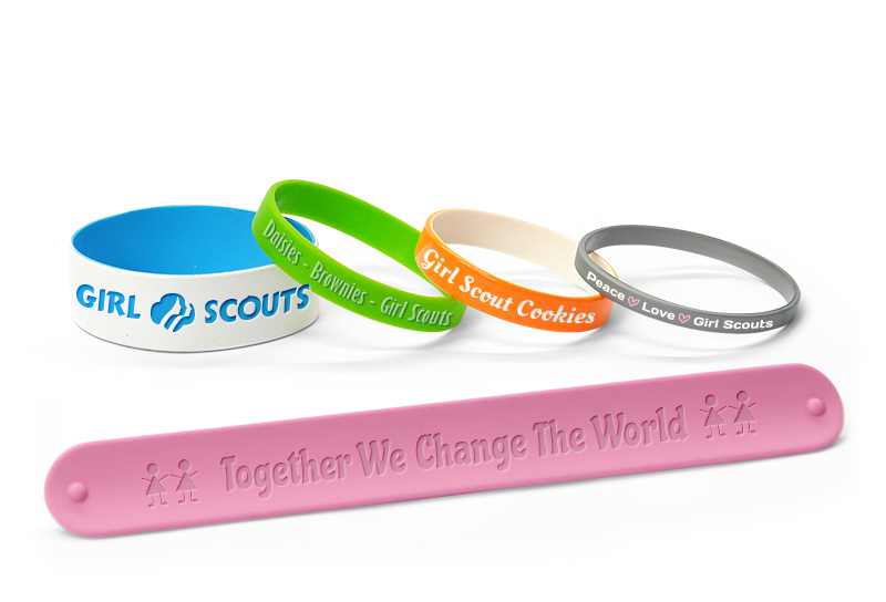 Girls Scout Wristbands