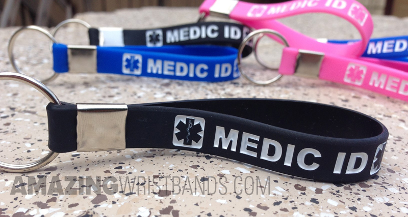 Medical Id Keychains