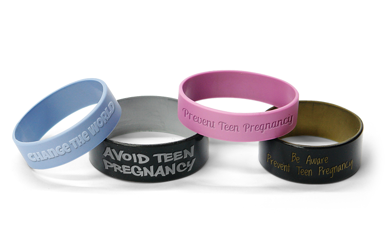 Prevent Teen Pregnancy Bracelets