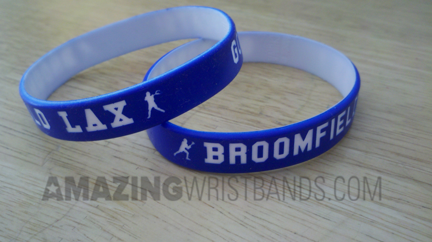 Custom Lacrosse Wristbands