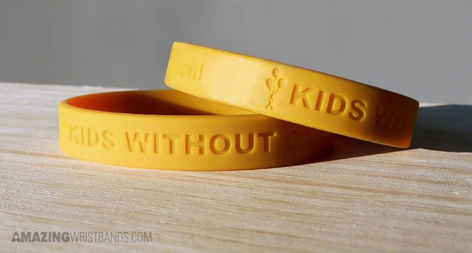 Kids Get Cancer Too Wristbands | Cancer Awareness Bands