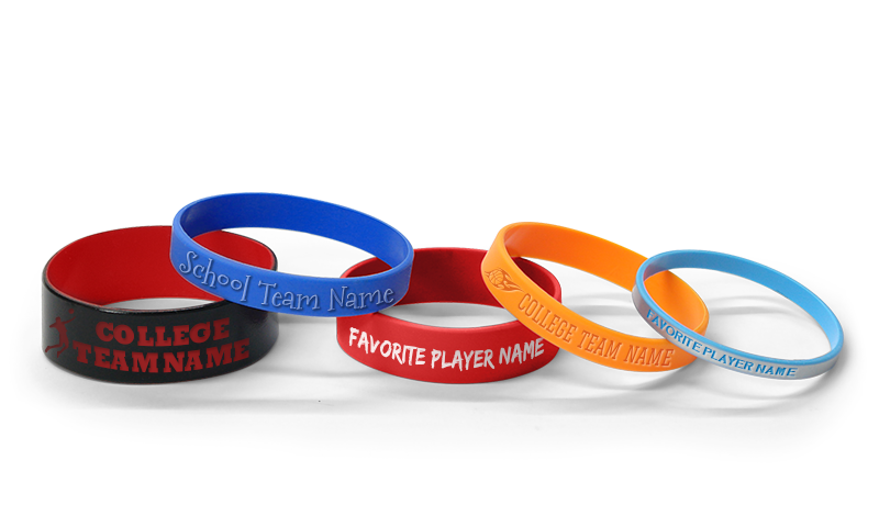 Personalized Basketball Wristbands