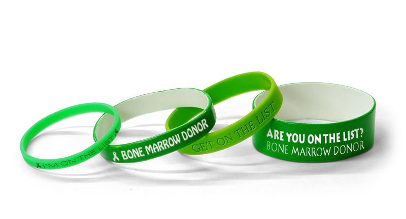 Custom-Made Bone Marrow Donor Bands