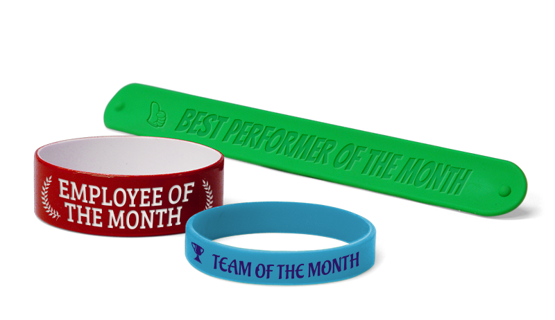 Employee of the Month Wristbands