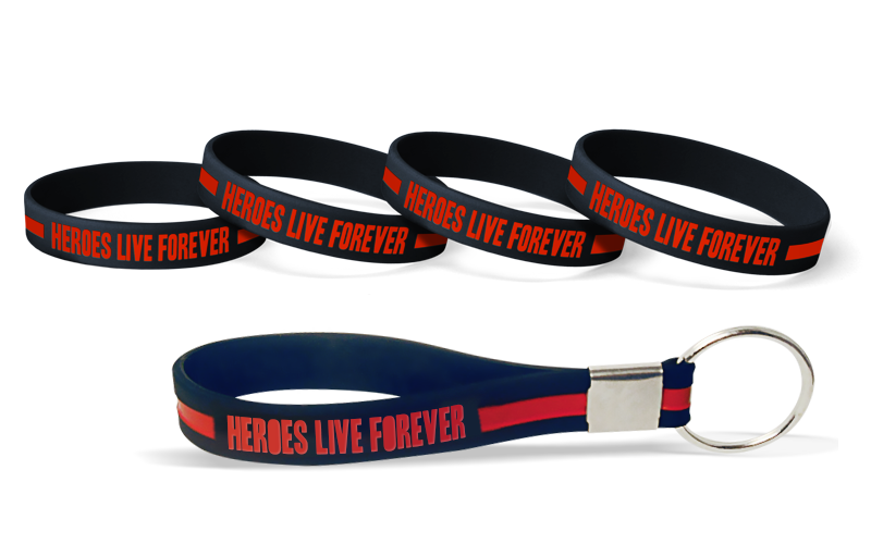 Wristbands To Honor FireFighters