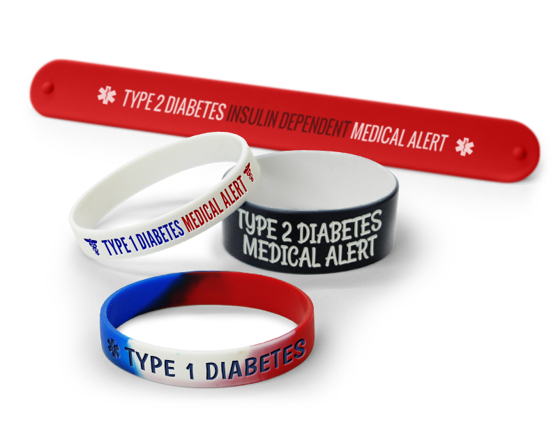 Wristbands Support Juvenile Diabetes