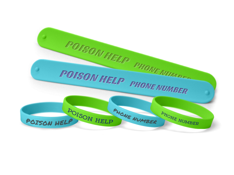 Poison Prevention Wristbands