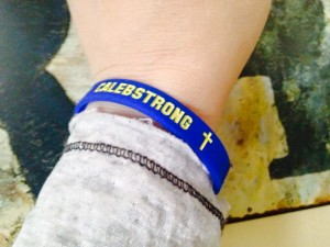 Medulloblastoma Awareness Wristbands