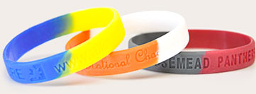 Segmented Wristbands